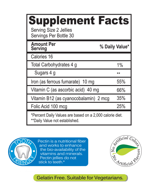 yumvs kids iron supplements facts